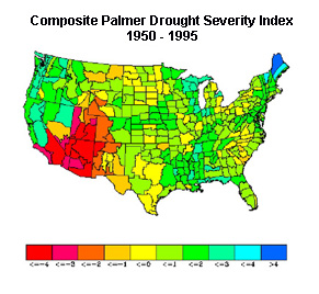 Forest Fires and Drought in the US Southwest